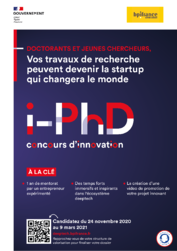 Affiche iPhD - concours innovation