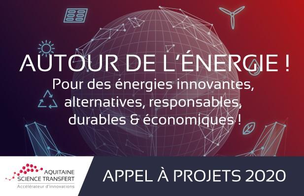 La SATT Aquitaine Lance un appel à projets AUTOUR DE L'ENERGIE !